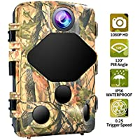 Trail Camera 16MP 1080P Game Camera for Wildlife...