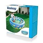 Best-Way-6942138930849-Piscina-Onda-dEstate-A-3-Anelli-Cm-196X53-522-196-cm-x-53-cm