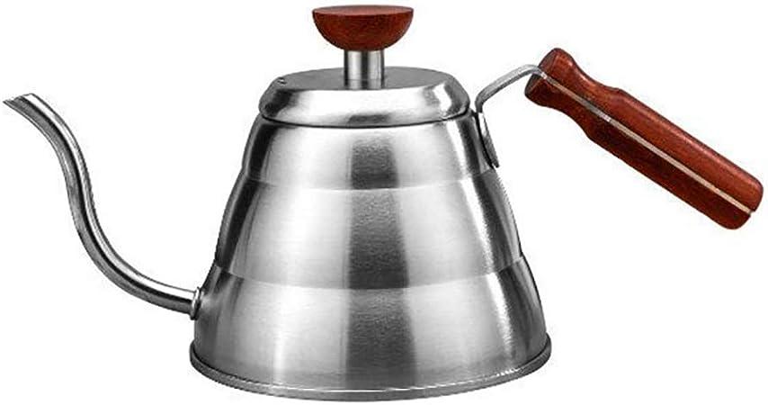 Tetera Moka Pot Tetera de acero inoxidable Cafetera de vapor de alta temperatura de acero inoxidable inoxidable: Amazon.es: Hogar