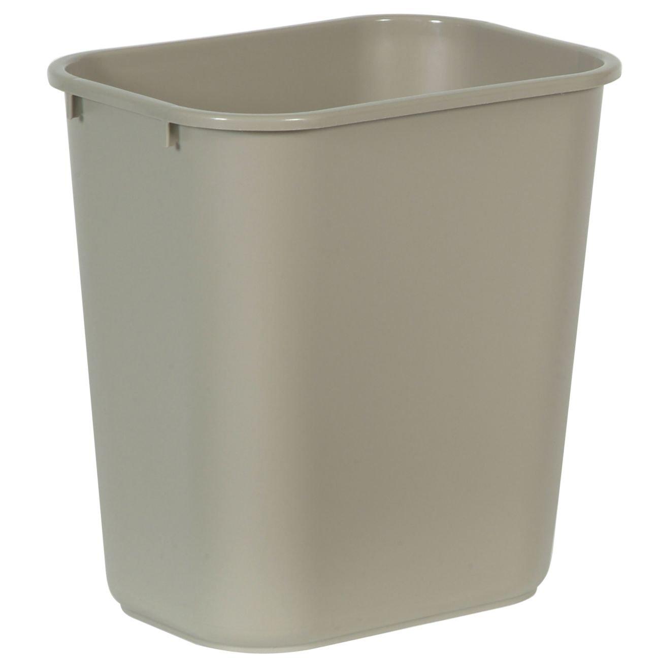 Rubbermaid Kitchen Trash Cans #33: Rubbermaid Commercial Plastic 7-Gallon Trash Can, Beige: Waste Bins: Amazon.com: Industrial U0026amp; Scientific