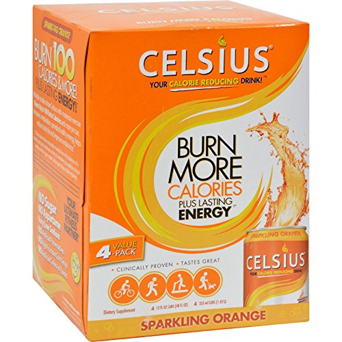 CELSIUS INC DRINK SPARKLING ORANGE
