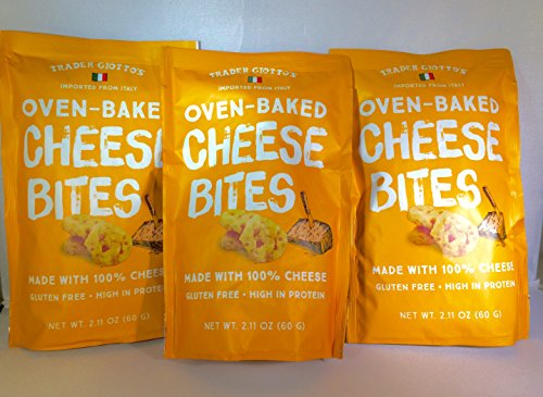 Trader Joe's Trader Giotto's Oven-Baked, Gluten-Free, Low Carb Cheese Bites (3-pack)