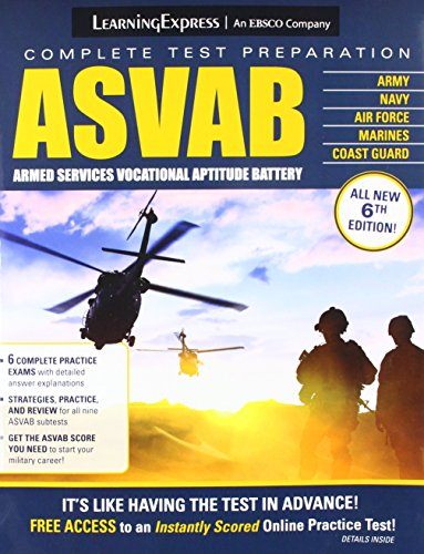 ASVAB: Armed Services Vocational Aptitude Battery