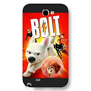 Customized Black Frosted Disney Cartoon Movie Bolt Ipod Touch 5