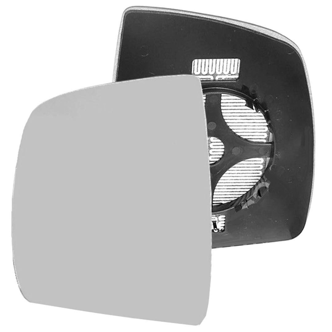 passager c/ôt/é gauche chauffant Wing Porte Miroir Argent/é en verre avec dos plaque # C-shy//L-ftdbo10/ /à clipser