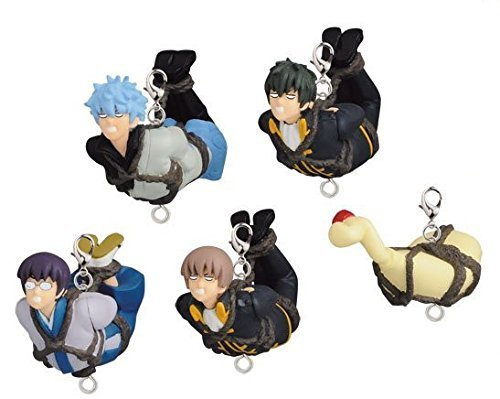 Gintama and more tightly! I'd had been charged to your rope O~o~o! ! Figure mascot set of 5