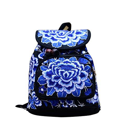 femme foncé bleu pour Foncé Bleu JUND Sac bandoulière Pq8nt6