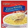 Lipton Soup Secrets Noodle Soup Mix, Extra Noodle Soup 4.9 oz