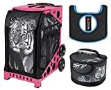 Zuca Sport Bag - Tiger with Lunchbox and Seat Cover (Pink)