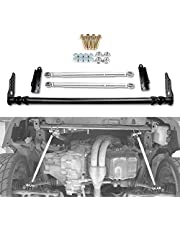 Front Traction Control Tie Bar, Bumpers NEW Silver Front Traction Control Tie Bar, For Honda Civic 92-95 For Acura For Integra 94-01