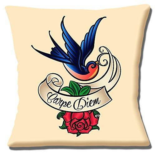 Sailor Jerry Tatuaje Artista Carpe Diem AVE ROSA - 40.6cm ...