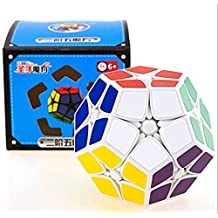 Kingcube ShengShou 2x2 Megaminx White Magic cube SS Megaminx 2x2 White Speed cube