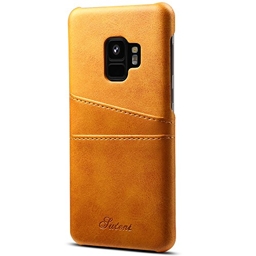 Samsung Galaxy S9/ S9 Plus Wallet Phone Case, Slim Leather Back Case Cover With Credit Card Holder for Men/Women/Girls/Boys