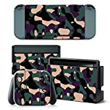 Cheap Gam3Gear Vinyl Decal Protective Skin Cover Sticker for Nintendo Switch Console & Controller – Purple Camouflage