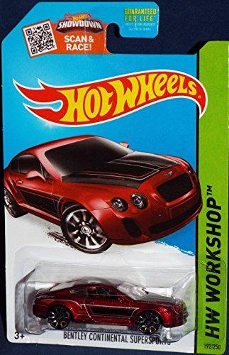 Hot Wheels 2015 Hw Workshop 192/250 - Bentley Continental Supersports [Red]