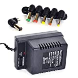 Best Modem Router Cable Combos - InstallerParts 800mA Universal AC/DC adapter w/6 Plugs Review