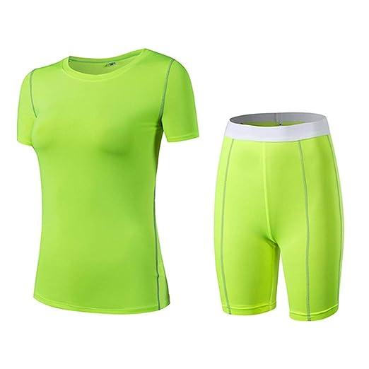 Conjunto de ropa deportiva para mujer Apretado Conjunto ...