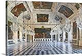 Gabriele Croppi Premium Thick-Wrap Canvas Wall Art Print entitled Austria, Styria, Central Europe, Graz, Castle of Eggenberg, Planetary Room
