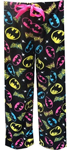 dies Fleece Pant Bat Girl Plus, Black, 1X ()