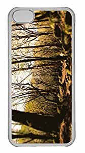 iPhone 5C Case, Personalized Custom The Forests Of Mazandaran Iran for iPhone 5C PC Clear Case
