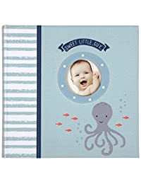 C.R. Gibson Slim Bound Photo Journal Album, By Carter's, Designer Pages, Space For Journaling, Holds 160 Photos, 80 Acid Free PVC Free Photo Safe Pages -Under The Sea BOBEBE Online Baby Store From New York to Miami and Los Angeles