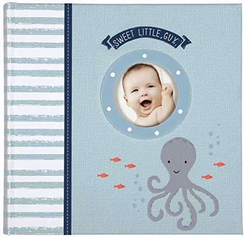 Carter's Slim Bound Photo Journal Album, Under The Sea