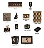 Browning Country Buckmark 25 Piece Bathroom Decor Accessories Set