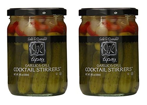 Sable & Rosenfeld Tipsy Cocktail Stirrers, 16 Ounce (Pack of 2)
