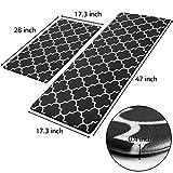 KMAT Kitchen Mat [2 PCS] Cushioned Anti-Fatigue