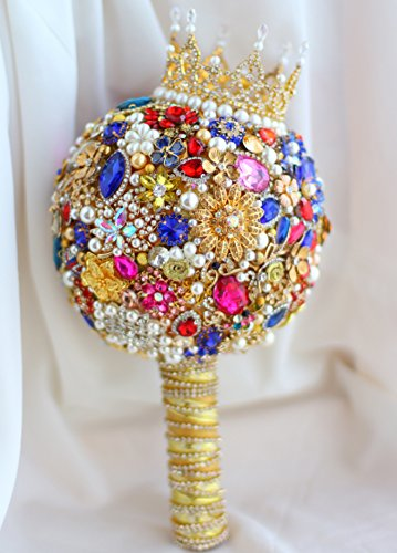 Iffo royal style gem custom bouquet small crown section (Little Crown) by IFFO