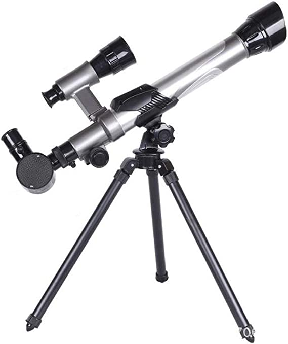 Ruirui Astronomisches Teleskop 300mm Brennweite 70mm Aperture Refractor Monocular Telescope 90x Objektiv Mit Stativ For Anfänger Kids Sky Stars Watching Garten