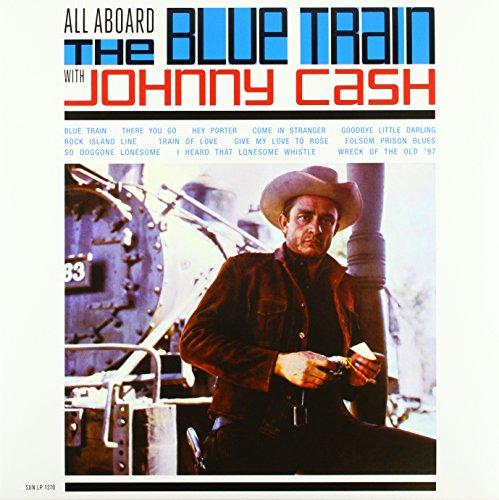 Vinilo : Johnny Cash - All Aboard The Blue Train With Johnny Cash (LP Vinyl)