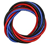 14 Gauge Silicone Power Wire, 3ft:Black, Red, Blue