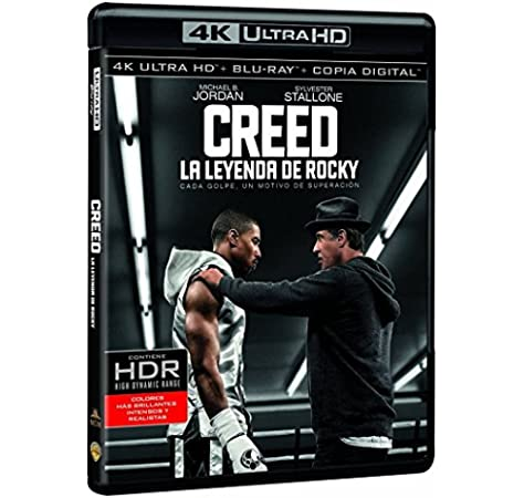 Creed. La Leyenda De Rocky 4k Uhd [Blu-ray]: Amazon.es: Sylvester Stallone, Michael B. Jordan, Graham Mctavish, Tessa Thompson, Phylicia Rashad, Mark Rhino Smith ...