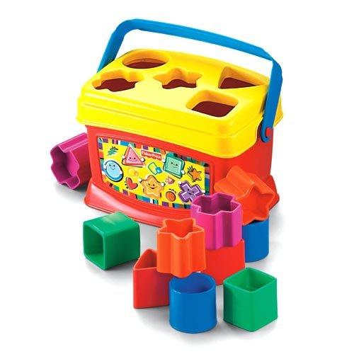 Fisher-Price FRPK7167 K7167 Brilliant Basics(TM) Babys First Blocks by Fisher-Price