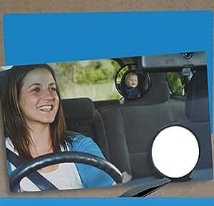 Espejo retrovisor beb coche viflykoo retrovisor para for Espejo retrovisor coche bebe
