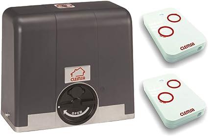 Mini-kit motor puerta cancela corredera CLEMSA AC562N 600KG, para automatizar puertas y cancelas correderas de uso residencial, parking, garaje, cochera, alta calidad con 2 mandos MUTANCODE NT2: Amazon.es: Bricolaje y herramientas