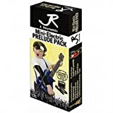 J Reynolds JRPKLPBK Mini Electric Guitar Pack