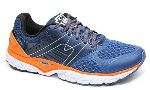 Karhu Scarpa Running Uomo, MOD. Fast MRE, Art. F100203, Colore Blu e Arancione.