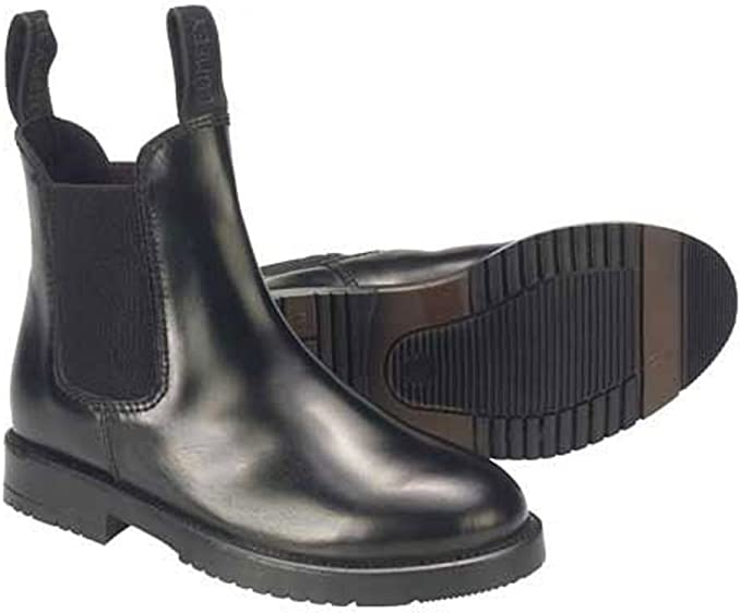 Leather Childrens Jodphur Boots BROWN