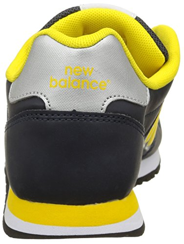 New Balance KV500YYI - Zapatillas para niños, color azul marino / amarillo / blanco