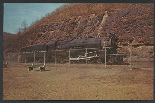 - Locomotive K4S Altoona Train Horseshoe Curve Pennsylvania Railroad Postcard