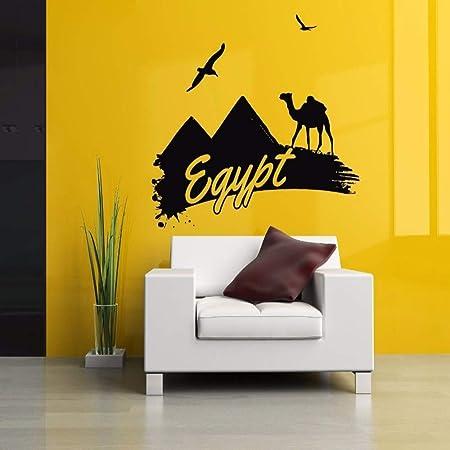 guijiumai Dctal Animal Camel Sticker Egipto Decal Muurstickers ...