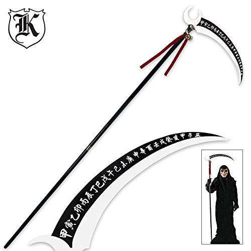 K EXCLUSIVE Tall Okami Kakushi Replica Anime Scythe