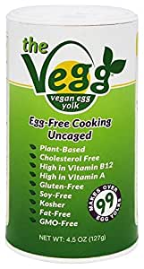 The Vegg Vegan Egg Yolk Canister, 4.5 oz.