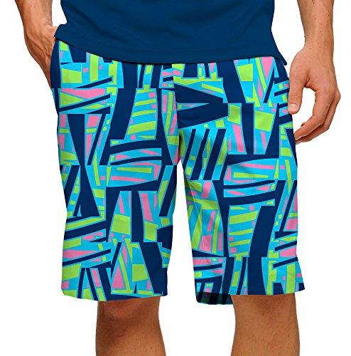 loudmouth-mens-tiki-bar-blue-golf-shorts-34w-blue-green