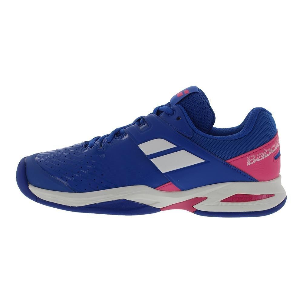 Babolat Kid's Propulse Fury All Court Junior Tennis Shoes B079FGT482 2.5 M US|Blue