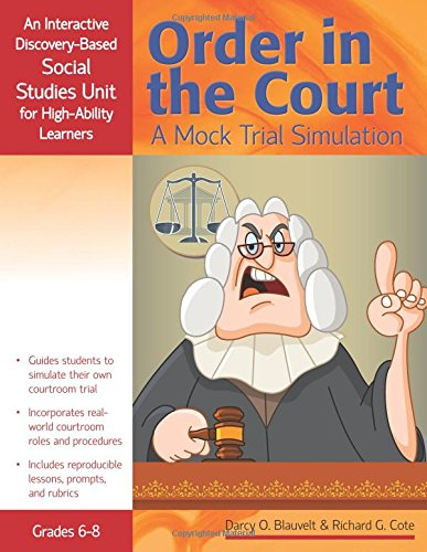 Amazon.com: Order in the Court: A Mock Trial Simulation: An ...