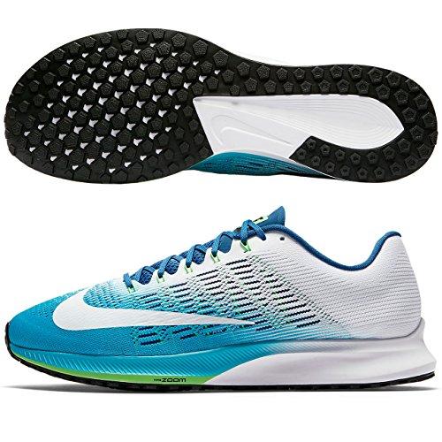 Nike Air Zoom Elite 9, Scarpe Running Uomo, Blu (Chlorblau/Weiß-Industriell Blau), 41 EU