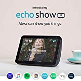 Introducing Echo Show 8 - HD 8' smart display with Alexa - Charcoal